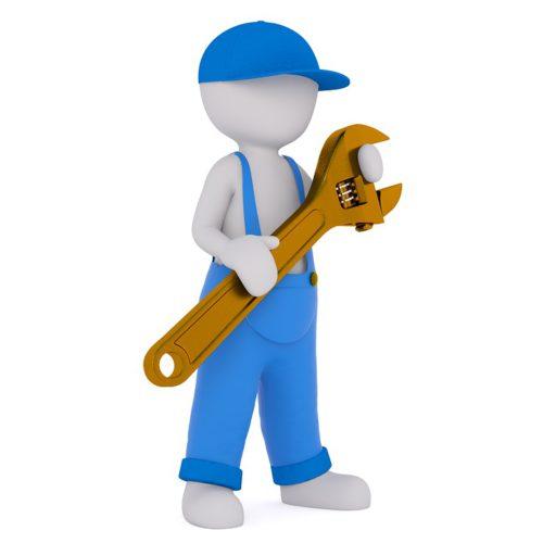 Male mini worker