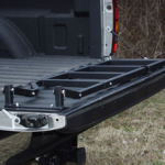 Installed Tailgate Ladder