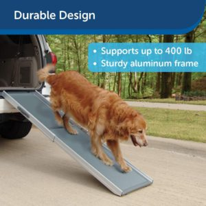 To Assist Dogs in the descend and ascend to and From Your Vehicle