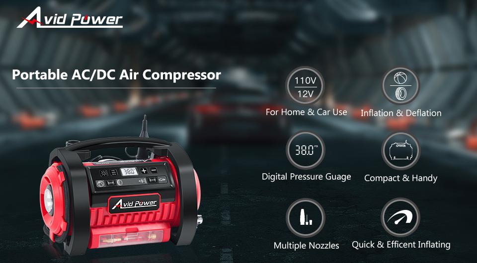 Dual Purpose Air Compressor