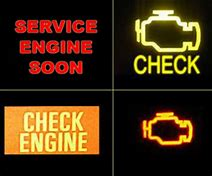 Engine Light Icons That Appear on Your