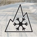 Safe to Drive in Winter Tire markings